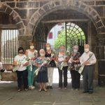 La fundación Arras Baztan premia a los participantes en Loraldia